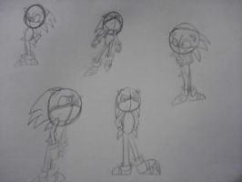 Sonic Doodles by TeamOf1