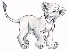 The Lion King - Nala (cub) by 09Dianime