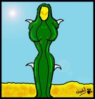 Cactified girl by nepht