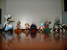 My Figure Collection by Icyfrodo