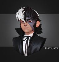 Black Jack, Zbrush Sketch by angryzenmaster