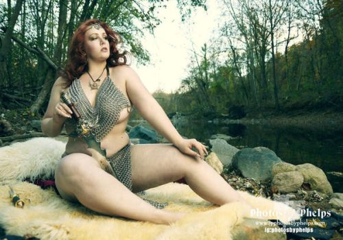 Red Sonja - On watch by AnnaMarxModeling