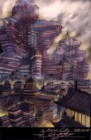 Kuran City by TheFirstNotorian