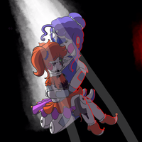 Circus Baby has already been here today by vvthegiraffe
