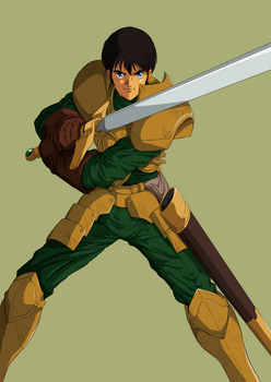 Record of Lodoss War Parn by taira-paco