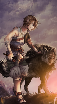 Link, The Legend of Zelda: Twilight Princess by Iku-Aldena