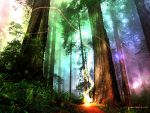 Colorful Forest by NataliaNicole
