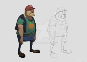 Greg Character Design by ifesinachi