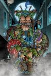 TMNT poster print by Puis Calzada colored by Dany-Morales
