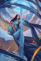 Aquarius - Llewellyn Worldwide by juliedillon