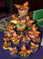 Butterfly Cupcakes by picworth1000wrds