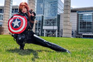 Black Widow: Agent of SHIELD by GothamBeat