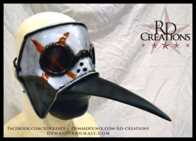 Custom Assassins Creed Elite Doctor Mask by UnboundArt
