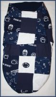 Quilted Pennstate Swaddler by PrimmRose