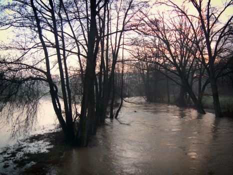 flooding by HelmutBauer