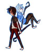 Jack and Frost by Ninja-Neko-Aru
