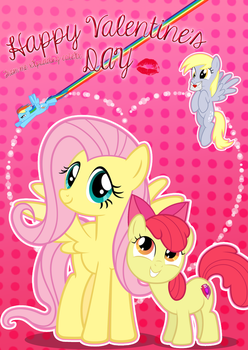 Happy Valentine's day! From me, xXpudding-cakeXx by xXPudding-CakeXx