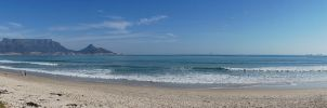 CapeTown mid-winter from Sunset beach - panaroma by AfricanObserver
