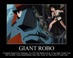 Giant Robo by OrneryAmerican