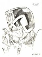 Another 15 minute Dredd by KevLev