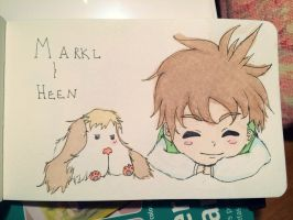 Markle and Heen - Fanart by ruikami