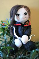Katniss Everdeen Doll by mystic-fae