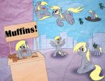 Changling Derpy by bunnimation