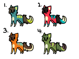adoptables .:OPEN:. by solstice5