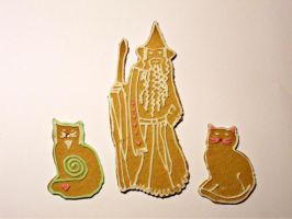 Gandalf the cookie by Maruhi