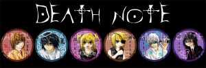 Death Note Pin Set by cassiesillustrations