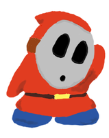 Shy Guy drawing by Giluc
