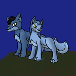 Uncommon Blue Foxes by Usagi-Zakura