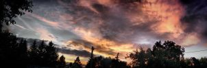 sky is burning by DanielGliese