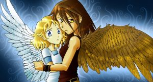 Angel and Max by JLGribble