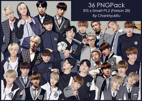36 / BTS x Smart Pt.2 PNGPack by ChanHyukRu