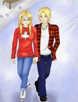 Couples Skate by blonde-kitten-otaku