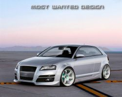 MostWanted Design: Audi A3 by MWPHOTO