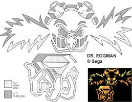 Eggman Jack-O-Lantern Stencil by Rally-the-Cheetah