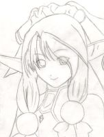 Ellis Agarest Drawing by AnoNeko