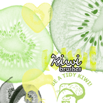 Kiwi Brushes by Babydykecate