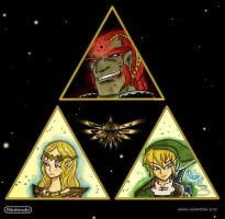 Legend of Zelda by Muhsai