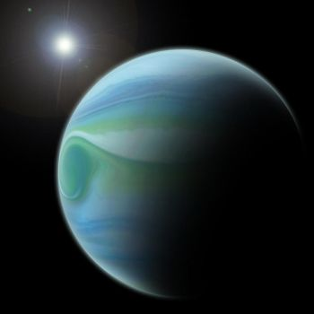 Gas Giant by ShinyUmbreonInk