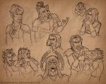 ESO Sketches II by SlayerSyrena
