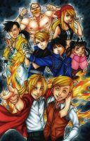 Fullmetal Alchemist by curry23