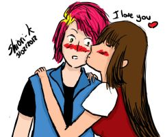 Faberry-I love you by Shiori-K
