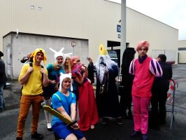 Adventure Time @ FACTS by laurensiobandini