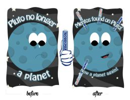 Mentos on Pluto by poisiongirl