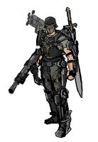DF Imperial German Exo 2 sketch by TheDrowningEarth