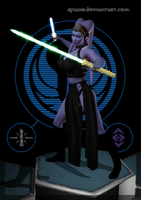 Jedi Sentinel Veesa Les by Ayiano