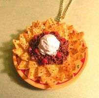 Nachos Platter Necklace by AsianBunni